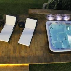 ZONA HUMEDA: Piscinas de estilo  por IngeniARQ Arquitectura + Ingeniería