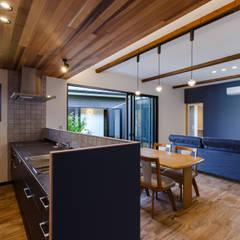 須賀川・今泉のリノベーション: 清建築設計室/SEI ARCHITECTが手掛けたキッチンです。