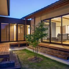 須賀川・今泉のリノベーション: 清建築設計室/SEI ARCHITECTが手掛けた庭です。