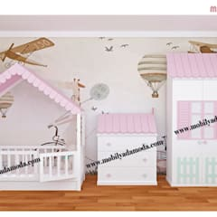 MOBİLYADA MODA  – Montessori Bebek Çocuk Odaları:  tarz Bebek odası