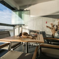 Lucht, Licht, Zicht:  Terras door Masters of Interior Design
