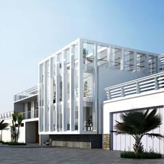Casa en la Honda de ARCHITECTS Minimalista