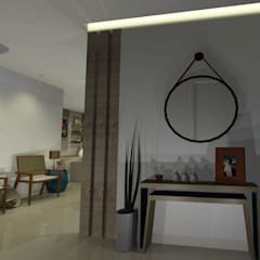 Koridor dan lorong oleh Onix Designers, Mediteran