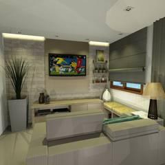 Cobertura da Família: Salas de estar  por Onix Designers