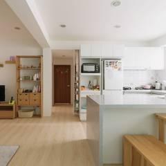 Cocinas de estilo  por 大觀創境空間設計事務所,