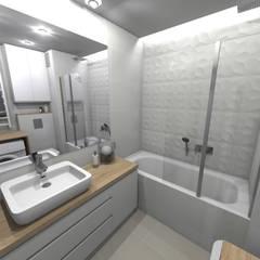 Bathroom by Agnieszka Buchta-Swoboda Design,