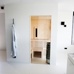 Cleopatra Sauna: moderne Spa door Cleopatra BV