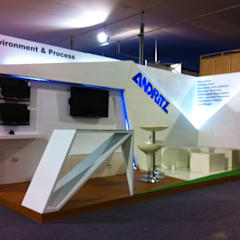 Exhibition centres by Omd Group,