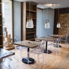 ILUMINACION Y DECORACION LED DE INTERIOR Y AMBITO PROFESIONAL: Hoteles de estilo  de ILUMINABLE
