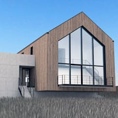 Dom nad zatoką Skandynawskie domy od Plan Architekci Skandynawski