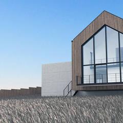 Dom nad zatoką: styl , w kategorii Domy zaprojektowany przez Plan Architekci