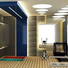VILLA @ NOIDA:  Gym by Design Radical