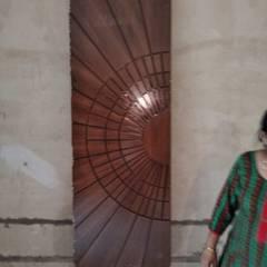 Puertas de madera de estilo  por Design Radical