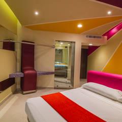 Hotel La Venta: Hoteles de estilo  por DIN Interiorismo