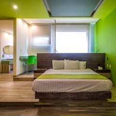 Hotel Natura: Hoteles de estilo  por DIN Interiorismo