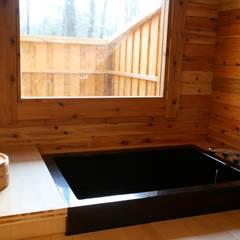 浴室: 株式会社高野設計工房が手掛けた浴室です。