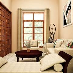 Ruang Tamu - Entrance:  Ruang Keluarga by Vaastu Arsitektur Studio