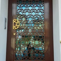 Front doors by Ayteksa L.t.d, Industrial Iron/Steel