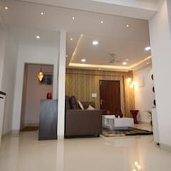 Dining - Puja Room:  Dining room by Enrich Interiors & Decors