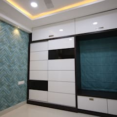 Asian style bedroom by Enrich Interiors & Decors Asian