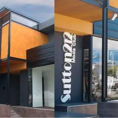 Fotos fachada: Oficinas y Tiendas de estilo  por Metamorfosis arquitectura y diseño