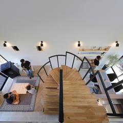 North-South axis: 株式会社建築工房DADAが手掛けた階段です。