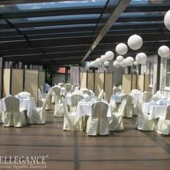 Ogród zimowy dla restauracji w Lublinie: styl , w kategorii Gastronomia zaprojektowany przez Ellegance