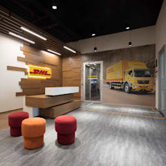 DHL SmartTrucking:  Office buildings by Apex Project Solutions Pvt. Ltd.