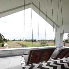 Loggia:  Terrasse von Architekturbüro zwo P