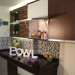 BEVERLY - Apartment Tipe Studio B: Dapur oleh POWL Studio,