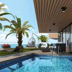 Derat Mimarlık - Tasarım / Archıtects & Interıor – CRUISE:  tarz Teras