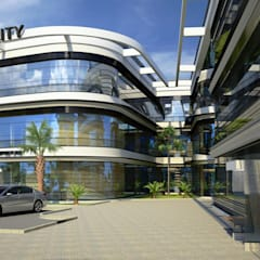 Derat Mimarlık - Tasarım / Archıtects & Interıor – AKATECH UNIVERSITY :  tarz Evler