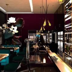 Derat Mimarlık - Tasarım / Archıtects & Interıor – BOOM BAR :  tarz Şarap Mahzeni