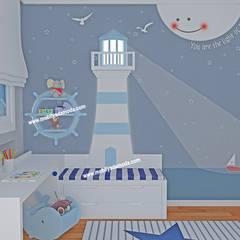 MOBİLYADA MODA  – Marin Konseptli Çocuk Odası, Yunus Emre'nin Odası :  tarz Erkek çocuk yatak odası