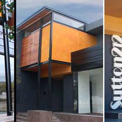 Fachada: Oficinas y Tiendas de estilo  por Andorni  arquitectos & diseñadores asociados