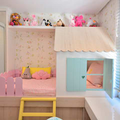 Girls Bedroom by BG arquitetura