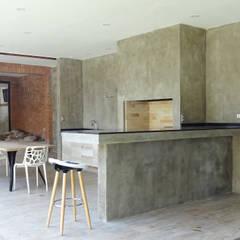 Quincho Lo Matta, 30m2, Vitacura: Terrazas  de estilo  por m2 estudio arquitectos - Santiago