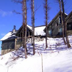 منزل ريفي تنفيذ TAPO 富岡建築計画事務所