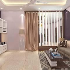2 BHK Interior Design In Kolkata:  Dressing room by Best Luxury Interiors