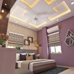 2 BHK Interior Design In Kolkata:  Houses by Best Luxury Interiors