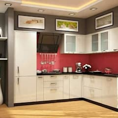 Interiors:  Kitchen by swastik architects