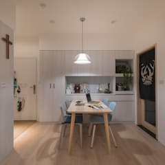 Dining room by 耀昀創意設計有限公司/Alfonso Ideas, Scandinavian