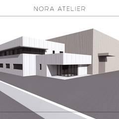 Nora Atelier - Legalização e Ampliação de Unidade Fabril: Escritórios e Espaços de trabalho  por Nora Atelier