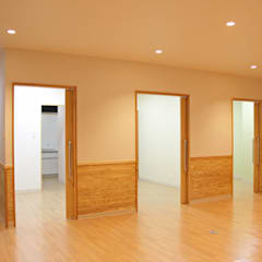 Projekty,  Kliniki zaprojektowane przez 大畠稜司建築設計事務所
