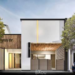 منزل جاهز للتركيب تنفيذ Atelier BAOU+
