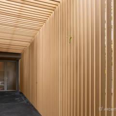 LINEAGE HOUSES:  กำแพง โดย D' Architects Studio, โมเดิร์น