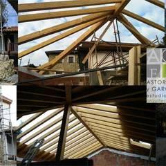 سقف متعدد الميول تنفيذ ASTORGA Y GARCÍA,  ESTUDIO DE ARQUITECTURA