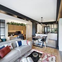 eclectic Living room by Egue y Seta
