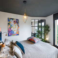 eclectic Bedroom by Egue y Seta