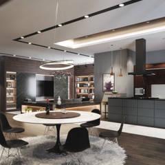 غرفة السفرة تنفيذ Studio Gritt